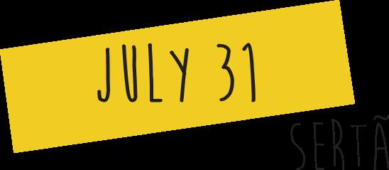 31 July in Sertã